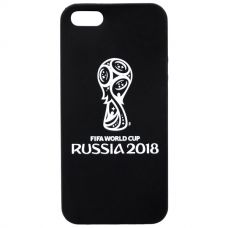 Чехол для iPhone 2018 FIFA WCR Official Emblem b/w для Apple iPhone 5/5S/SE